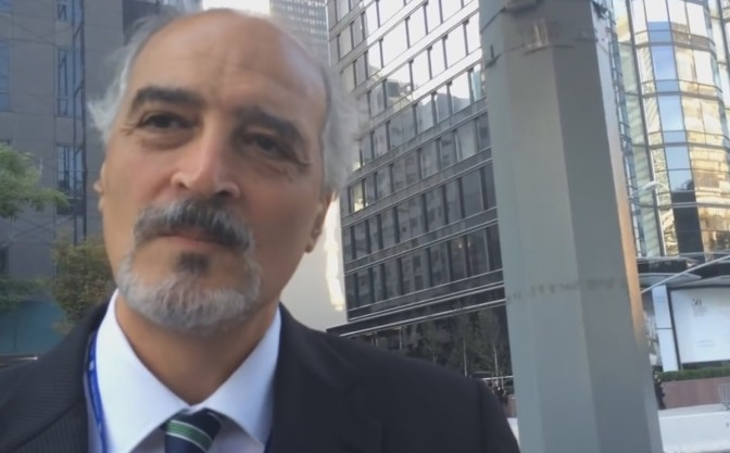 Video: Syria's UN Ambassador conducts street interview in New York