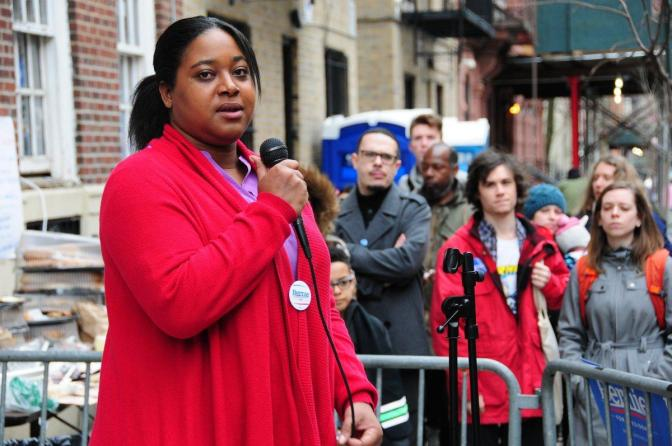 DAILY NEWS: Erica Garner blasts Clinton campaign over discussions staffers had about her father's death in WikiLeaks emails