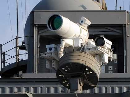 The US Navy plans to fire laser weapons off of ships within a year