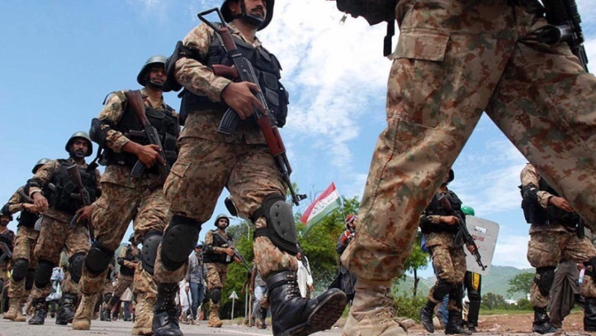 Pakistan army launches first nationwide anti-terrorism operation