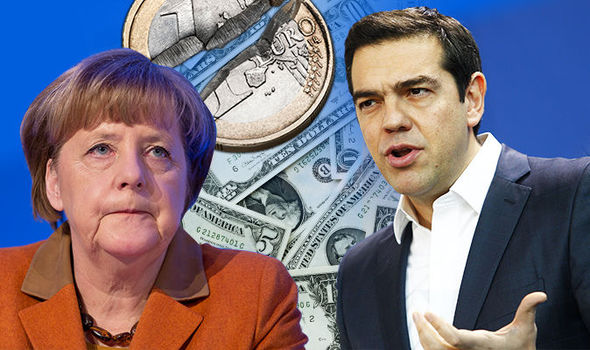 EURO HUMILIATION: Germany 'freaked out' as Greece 'could ditch EU currency for US DOLLAR'