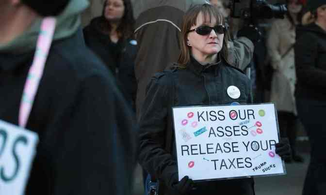 We will not pay: the Americans withholding their taxes to fight Trump