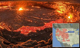 Lake of molten carbon the size of Mexico is discovered under the US