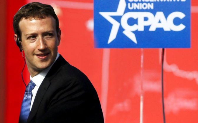 Why Is Facebook Helping Fund CPAC?