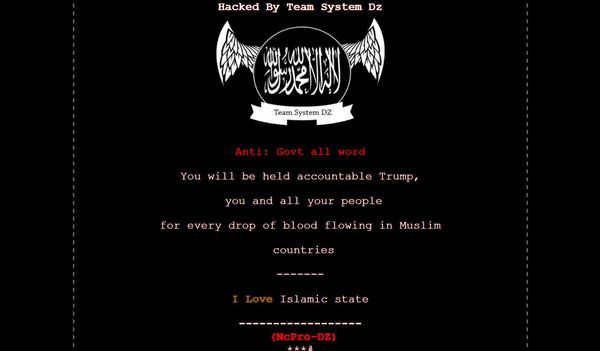 Ohio Government Websites Hacked With Pro-Islamic State Messages – Bloomberg
