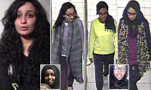 ISIS fighter's wife reveals plight of teenage brides | Daily Mail Online