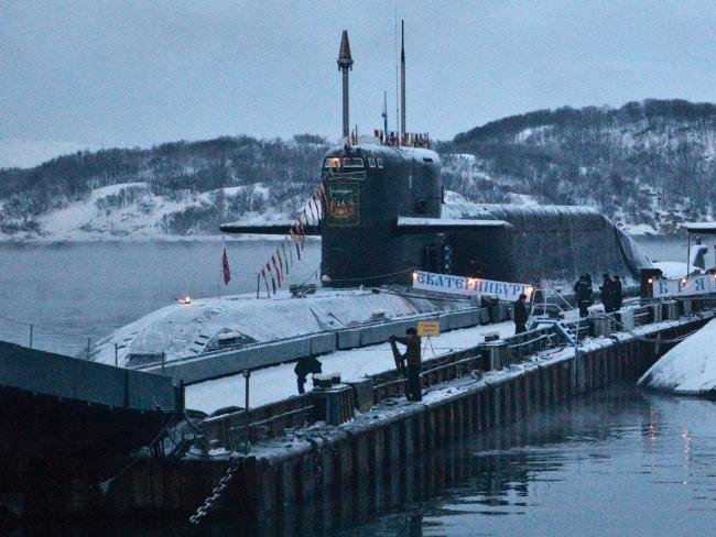 Russian submarine activity monitored in Arctic