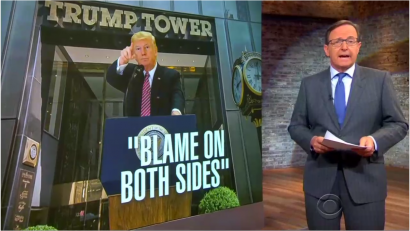 Nets Spend 77 Percent of Evening News on Wild Trump Presser