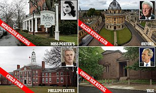 Secret scandals of elite prep schools and college clubs | Daily Mail Online