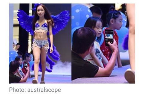 Little girls model lingerie in 'Victoria's Secret'-style show [Video]
