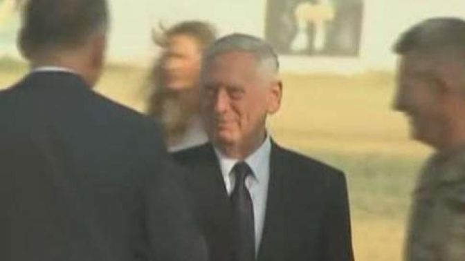 Rockets, grenades fired at Kabul airport after Mattis arrival