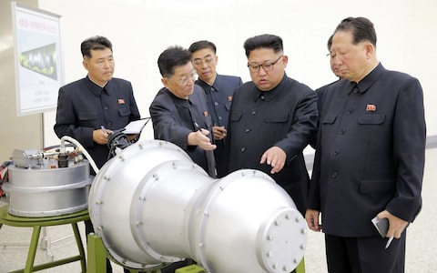 North Korea 'secretly helped by Iran to gain nuclear weapons', British officials fear