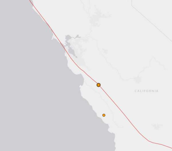 Earthquake swarm hits Monterey County