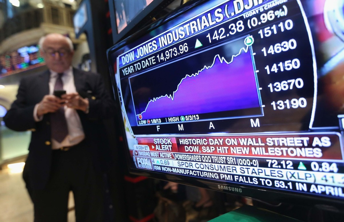 Dow Industrials Top 26000 for First Time - WSJ