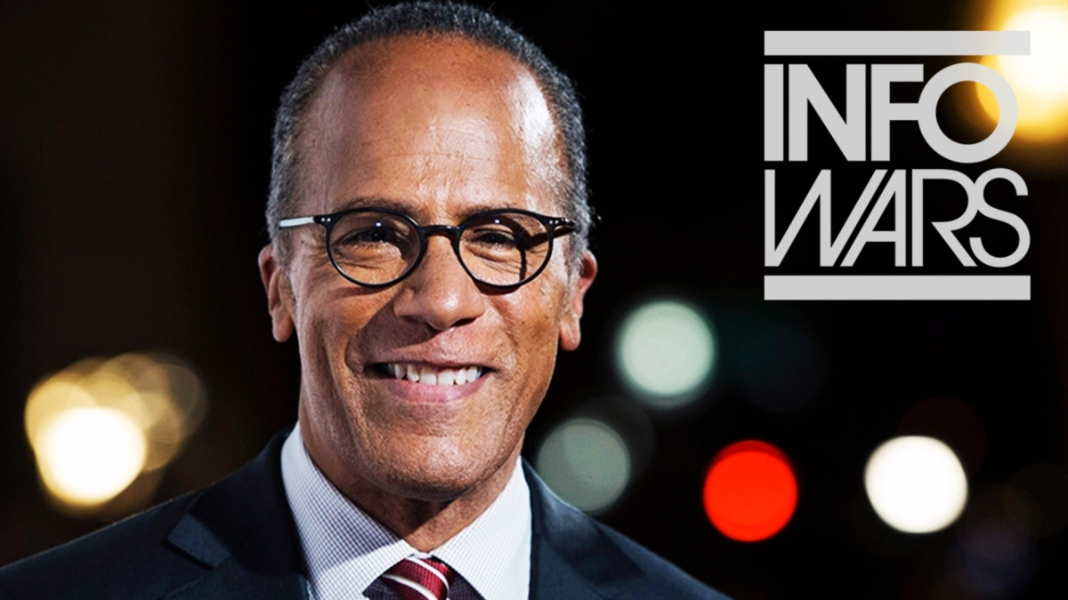 Video: Lester Holt is a Liar – Alex Jones Did Not Call For Violence